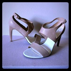 Cole Haan, Maria Sharapova, beige heels